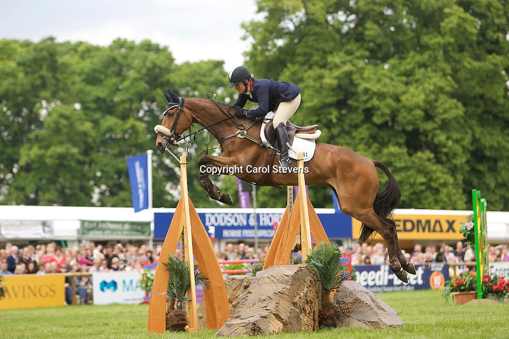 Equi-Trek Bramham International Horse Trials 2012 CCI3*<br /> Pippa Funnell and Mirage D'Elle<br /> Final Result - 2nd