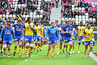 Groupe Clermont - 28.03.2015 - Stade Francais / Clermont - 21e journee Top 14<br /> Photo : Dave Winter / Icon Sport