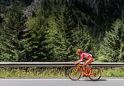07.07.2017, St. Johann Alpendorf, AUT, Ö-Tour, Österreich Radrundfahrt 2017, 5. Kitzbühel - St. Johann/Alpendorf (212,5 km), im Bild Felix Grossschartner (AUT, CCC Sprandi Polkowice) // Felix Grossschartner (AUT, CCC Sprandi Polkowice) during the 5th stage from Kitzbuehel - St. Johann/Alpendorf (212,5 km) of 2017 Tour of Austria. St. Johann Alpendorf, Austria on 2017/07/07. EXPA Pictures © 2017, PhotoCredit: EXPA/ JFK