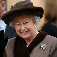 29-02-2008. INS News Agency Ltd<br />Picture by Blake-Ezra Cole<br /><br />The Queen officially opens the modern extension to Windsor's Royal Shopping Arcade.