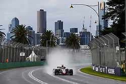 March 24, 2018 - Melbourne, Victoria, Australia - 08 GROSJEAN Romain (fra), Haas F1 Team VF-18 Ferrari, action during 2018 Formula 1 championship at Melbourne, Australian Grand Prix, from March 22 To 25 - s: FIA Formula One World Championship 2018, Melbourne, Victoria : Motorsports: Formula 1 2018 Rolex  Australian Grand Prix, (Credit Image: © Hoch Zwei via ZUMA Wire)