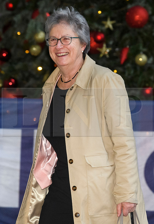 © Licensed to London News Pictures. 08/12/2018. London, UK. Labour MP GISELA STUART arrives at BBC Broadcasting House to appear on The Andrew Marr Show. Photo credit: Ben Cawthra/LNP