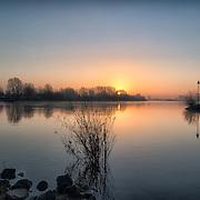 Panoramafotografie van landschap bij Dieren, Landschapsfotografie