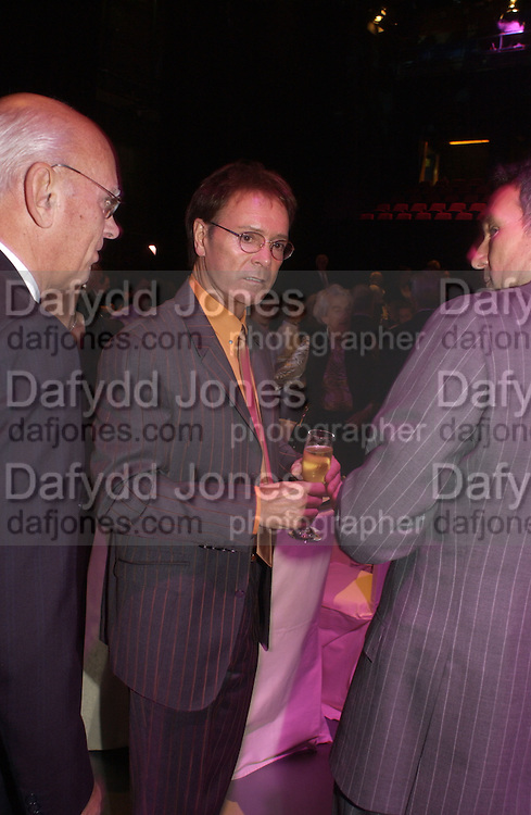 Cliff Richard. The Daily Mirror's Pride of Britain Awards, South Bank. London.   October 10 2005. ONE TIME USE ONLY - DO NOT ARCHIVE © Copyright Photograph by Dafydd Jones 66 Stockwell Park Rd. London SW9 0DA Tel 020 7733 0108 www.dafjones.com