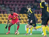 Mohammed Kudus (FC Nordsjælland) under kampen i 3F Superligaen mellem FC Nordsjælland og Randers FC den 22. november 2019 i Right to Dream Park (Foto: Claus Birch).