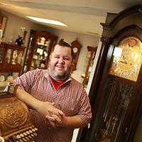 Clock repairman on Coley Road