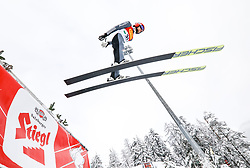 16.12.2017, Nordische Arena, Ramsau, AUT, FIS Weltcup Nordische Kombination, Skisprung, im Bild Fabian Riessle (GER) // Fabian Riessle of Germany during Skijumping Competition of FIS Nordic Combined World Cup, at the Nordic Arena in Ramsau, Austria on 2017/12/16. EXPA Pictures © 2017, PhotoCredit: EXPA/ Martin Huber