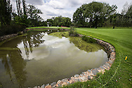 View of the left side pond defending the 6th on the East Course, Royal Johannesburg & Kensington Golf Club, Gauteng, Johannesburg, South Africa.  11/01/2016. Picture: Golffile | David Lloyd<br /> <br /> All photos usage must carry mandatory copyright credit (© Golffile | David Lloyd)