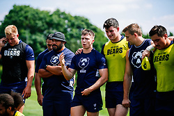 Charlie Powell in action during week 1 of Bristol Bears pre-season training ahead of the 19/20 Gallagher Premiership season - Rogan/JMP - 03/07/2019 - RUGBY UNION - Clifton Rugby Club - Bristol, England.