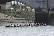 London, GREAT BRITAIN, General views on the River Thames, Sun  24/02/2008 2008. [Mandatory Credit, Peter Spurrier/Intersport-images] Rowing Course: River Thames, Championship course, Putney to Mortlake 4.25 Miles,