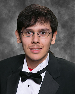 East Early College High School 2016 co-valedictorian Cesar Rodriguez.