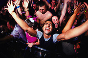 Ecstatic crowd, Creamfields 2000