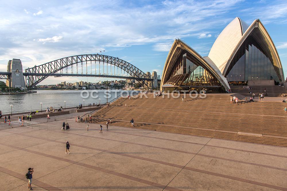 Sydney Opera House and Sydney Bridge Australia