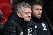Manchester United manager Ole Gunnar Solskjaer during the Premier League match between Bournemouth and Manchester United at the Vitality Stadium, Bournemouth, England on 2 November 2019.