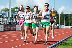 KOLTCOVA Mariia, BIACSI Bernadett, ALMEIDA Catia, BIACSI Ilona, KERKHOVE Shirley, 2014 IPC European Athletics Championships, Swansea, Wales, United Kingdom