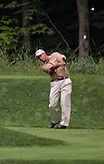 Jun 26, 2006; Gaylord MI; USA; Chris DiMarco tees off on the fifth hole during the final round of the 2006 ING Par-3 Shootout at Treetops Resort in Gaylord Michigan.