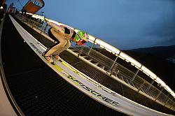 21.11.2014, Vogtland Arena, Klingenthal, GER, FIS Weltcup Ski Sprung, Klingenthal, Herren, HS 140, Qualifikation, im Bild Robert Kranjec (SLO) // during the mens HS 140 qualification of FIS Ski jumping World Cup at the Vogtland Arena in Klingenthal, Germany on 2014/11/21. EXPA Pictures © 2014, PhotoCredit: EXPA/ Eibner-Pressefoto/ Harzer<br /> <br /> *****ATTENTION - OUT of GER*****