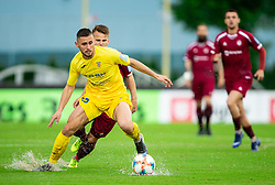 Dario Kolobaric of Domzale during football match between NK Triglav Kranj and NK Domzale in 35th Round of Prva liga Telekom Slovenije 2018/19, on May 22nd, 2019, in Sports park Kranj, Slovenia. Photo by Vid Ponikvar / Sportida