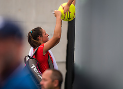 January 8, 2019 - Sidney, AUSTRALIA - Daria Kasatkina of Russia after the first round of the 2019 Sydney International WTA Premier tennis tournament (Credit Image: © AFP7 via ZUMA Wire)