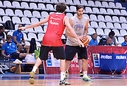 DESCRIZIONE : Qualificazioni EuroBasket 2015 - Allenamento <br /> GIOCATORE : Riccardo Moraschini<br /> CATEGORIA : nazionale maschile senior A <br /> GARA : Qualificazioni EuroBasket 2015 - Allenamento<br /> DATA : 12/08/2014 <br /> AUTORE : Agenzia Ciamillo-Castoria