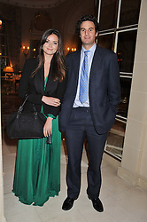 LADY NATASHA RUFUS-ISAACS and RUPERT FINCH at Tatler's Jubilee Party in association with Thomas Pink held at The Ritz, Piccadilly, London on 2nd May 2012.
