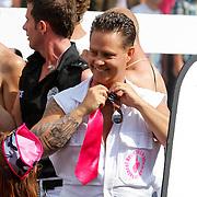 NLD/Amsterdam/20120804 - Canalparade tijdens de Gaypride 2012, Danny de Munk