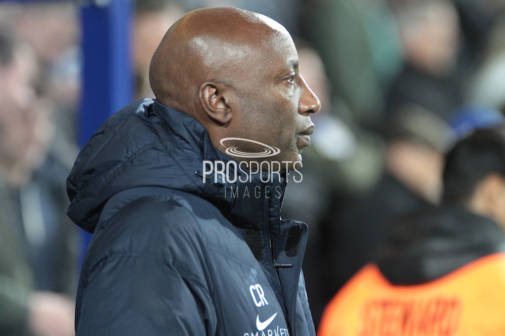 Queens Park Rangers manager Chris Ramsey during the Sky Bet Championship match between Queens Park Rangers and Sheffield Wednesday at the Loftus Road Stadium, London, England on 20 October 2015. Photo by Jemma Phillips.