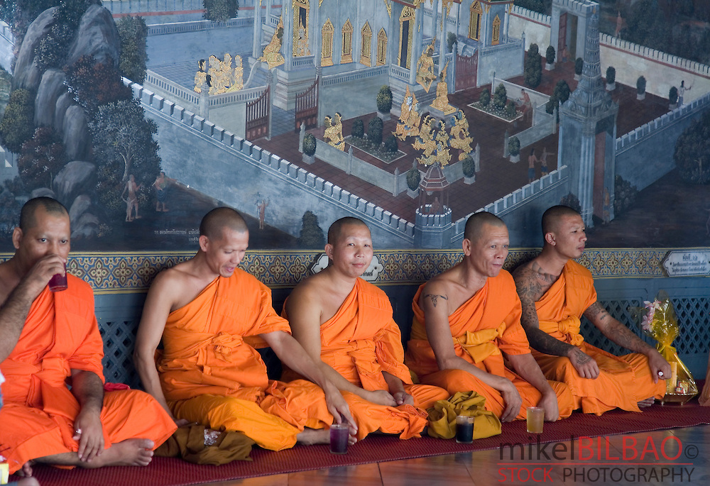 buddhist monks.<br />