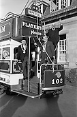 1963 - Players Tram float display for St. Patrick's Day