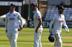 May 4, 2018 - Chelmsford, Greater London, United Kingdom - Essex's Alistair Cook.during Specsavers County Championship - Division One, day one match between Essex CCC and Yorkshire CCC at The Cloudfm County Ground, Chelmsford, England on 04 May 2018. (Credit Image: © Kieran Galvin/NurPhoto via ZUMA Press)