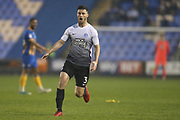 3 Andrew Hughes for Peterborough United during the EFL Sky Bet League 1 match between Shrewsbury Town and Peterborough United at Greenhous Meadow, Shrewsbury, England on 24 April 2018. Picture by Graham Holt.