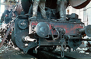 Description/Caption:<br /> Train Depot, Sibiu, Romania, 1982<br /> <br /> Digital Print up to 24x36&quot;