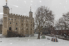 2018-03-02 SWNS - HRP _ Tower of London in the snow