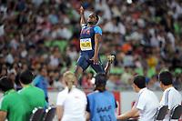 ATHLETICS - IAAF WORLD CHAMPIONSHIPS 2011 - DAEGU (KOR) - DAY 7 - 02/09/2011 - MEN LONG JUMP FINAL - DWIGHT PHILLIPS (USA) / WINNER - PHOTO : FRANCK FAUGERE / KMSP / DPPI