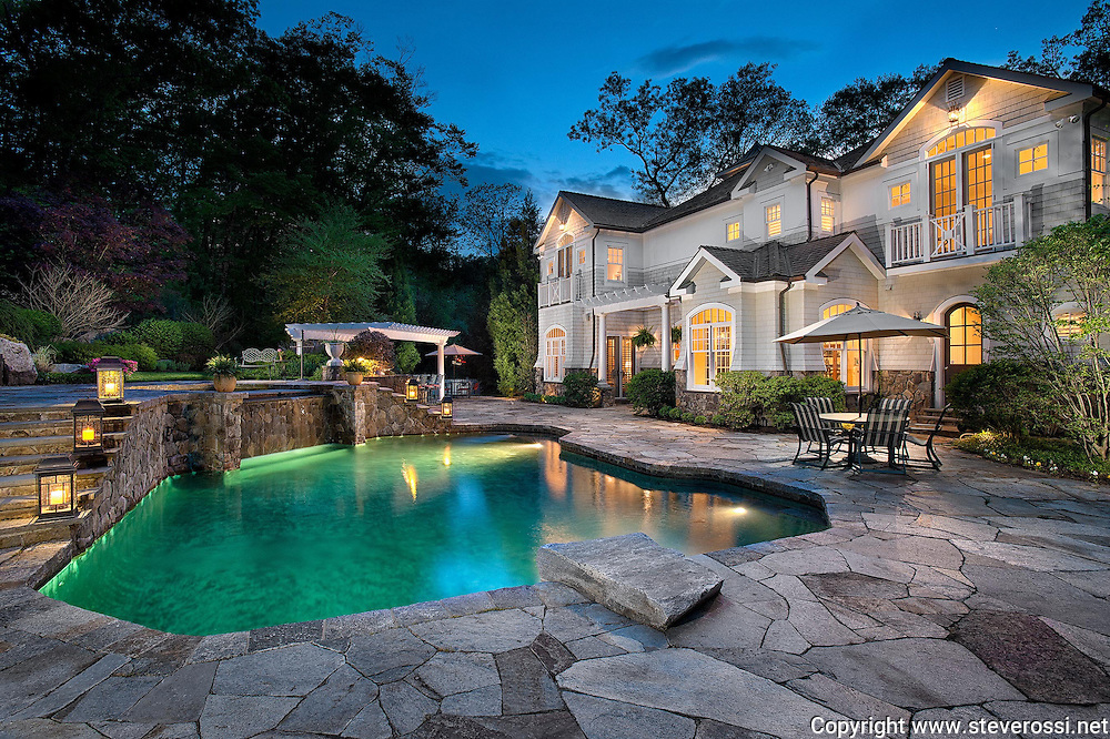 Steve Rossi Photo, real estate photographer, Fairfield County Real estate photography, Connecticut photographers, architectural photography, real estate photos, interior photography, dusk photography, night photography