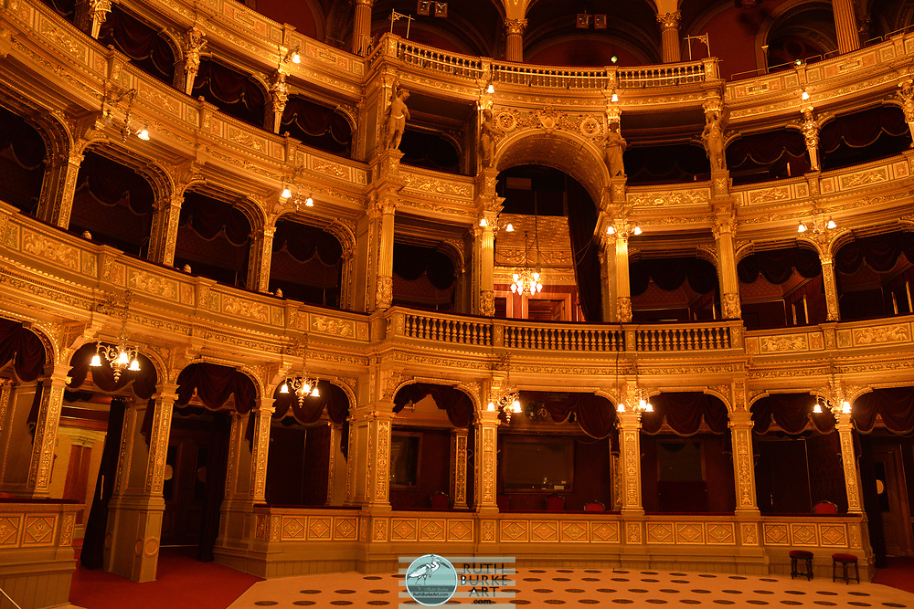 The Hungarian State Opera House is a neo-Renaissance opera house located in central Budapest, on Andrássy út. Originally known as the Hungarian Royal Opera House, it was designed by Miklós Ybl, a major figure of 19th-century Hungarian architecture