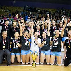 20160509: SLO, Volleyball - 1. DOL, Women, Calcit Ljubljana vs Nova KBM Branik
