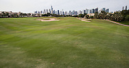 reverse view of the 4th fairway at The Address Montgomerie Golf Club, Dubai, United Arab Emirates.  27/01/2016. Picture: Golffile | David Lloyd<br /> <br /> All photos usage must carry mandatory copyright credit (© Golffile | David Lloyd)