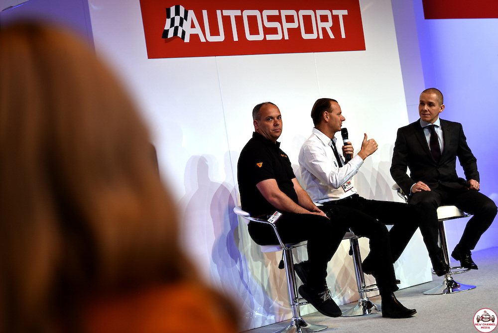 The Autosport International Show 2017 takes place at the National Exhibition Centre in Birmingham, United Kingdom.