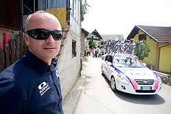 Bogdan Fink at Gabrje at 4th stage of Tour de Slovenie 2009 from Sentjernej to Novo mesto, 153 km, on June 21 2009, Slovenia. (Photo by Vid Ponikvar / Sportida)
