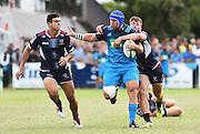 James Parsons during a pre season Super Rugby match. Blues v Storm, Pakuranga Rugby Club, Auckland, New Zealand. Thursday 4 February 2016. Copyright Photo: Andrew Cornaga / www.Photosport.nz