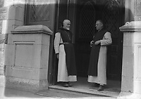Two priests. Names, date and location unknown. (Part of the Independent Ireland Newspapers/NLI Collection)