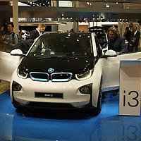 BMW i3, electric car at the IAA 2013, Frankfurt, Germany