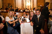 "Wien/Oesterreich, AUT, 28.01.2008: Besucher des jaehrlichen Jaegerballs in der Wiener Hofburg.<br /> <br /> Vienna/Austria, AUT, 28.01.2008: Visitors during the Hunters Ball (Jaegerball) at the ""Hofburg"" in Vienna."