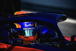 February 28, 2019 - Barcelona, Catalonia, Spain - ALEXANDER ALBON (THA) from team Toro Rosso takes to the track in his in his STR14 during day seven of the Formula One winter testing at Circuit de Catalunya (Credit Image: © Matthias OesterleZUMA Wire)