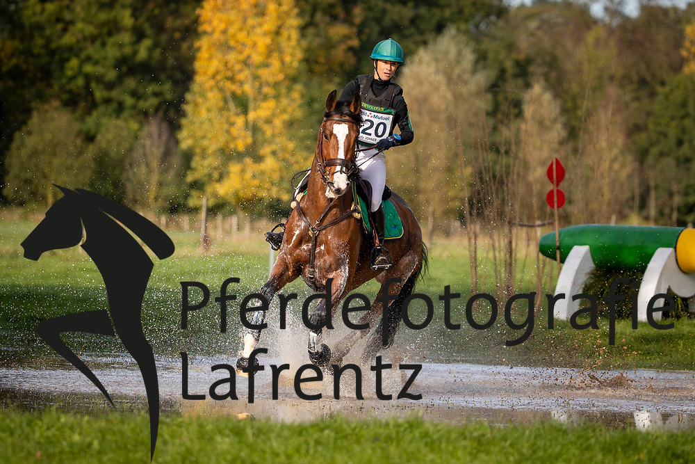 Johner Mélody, SUI, Demoiselle Peccau<br /> Le Lion d'Angers - Eventing World Breeding Championship 2019<br /> Teilprüfung Cross-Country 6 jährige<br /> 19. Oktober 2019<br /> © www.sportfotos-lafrentz.de/Dirk Caremans