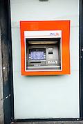 Pinautomaat van de ING