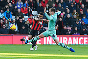 Goal - Joshua King (17) of AFC Bournemouth scores a goal to make the score scores the equalising goal to make the score 1-1 during the Premier League match between Bournemouth and Arsenal at the Vitality Stadium, Bournemouth, England on 25 November 2018.