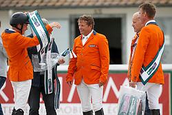 Greve Willem, Van Der Schans Wout Jan, Greve Jan, Vrieling Jur, (NED) <br /> Furusiyya FEI Nations Cup presented by Longines <br /> La Baule 2016<br /> © Hippo Foto - Dirk Caremans<br /> 13/05/16