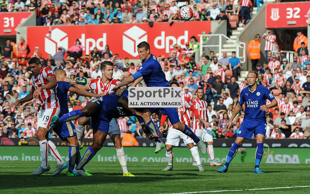 Robert Huth in action against his former club Stoke City (c) Simon Kimber | SportPix.org.uk